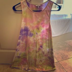 Tye dye cotton dress